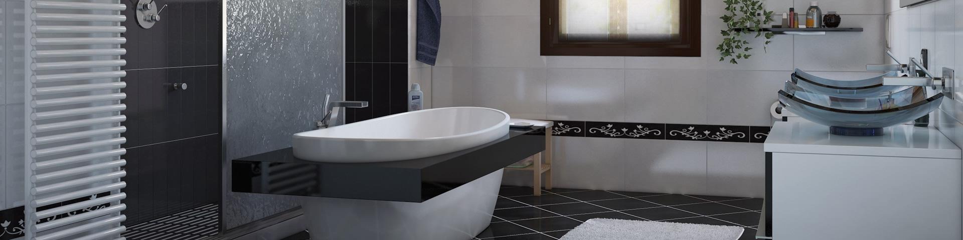 Fotografia bagno moderno e ristrutturato